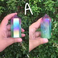 Rainbow Angel Aura Towers