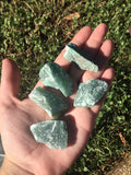 Raw Green Aventurine