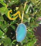 Agate Slice Ornaments / Mirror Hanging
