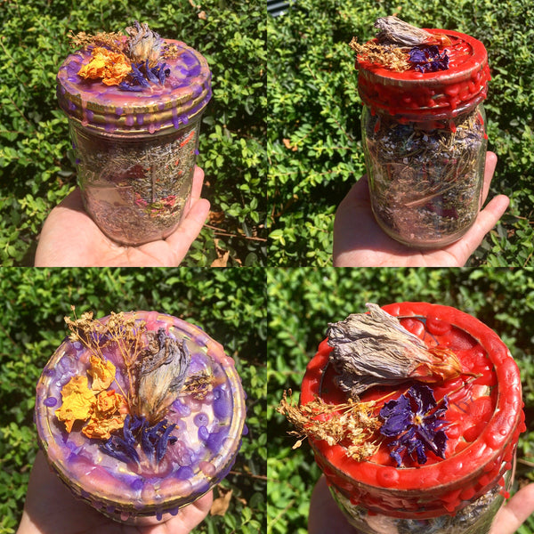 Protect Your Heart Spell Jar