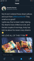 Custom Dream Pillows