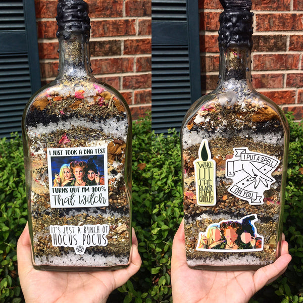 Hocus Pocus Witch Bottle