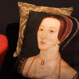 Anne Boelyn Cushion