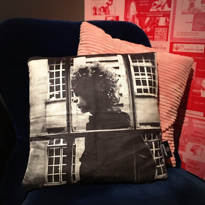 Bob Dylan Photo Art Cushion