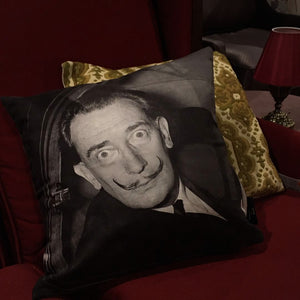 Salvadore Dali Photo Art Cushion