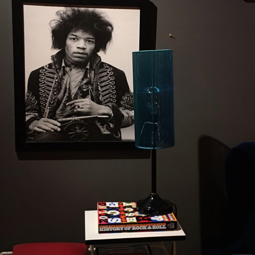 Jimi Hendrix Framed Photograph