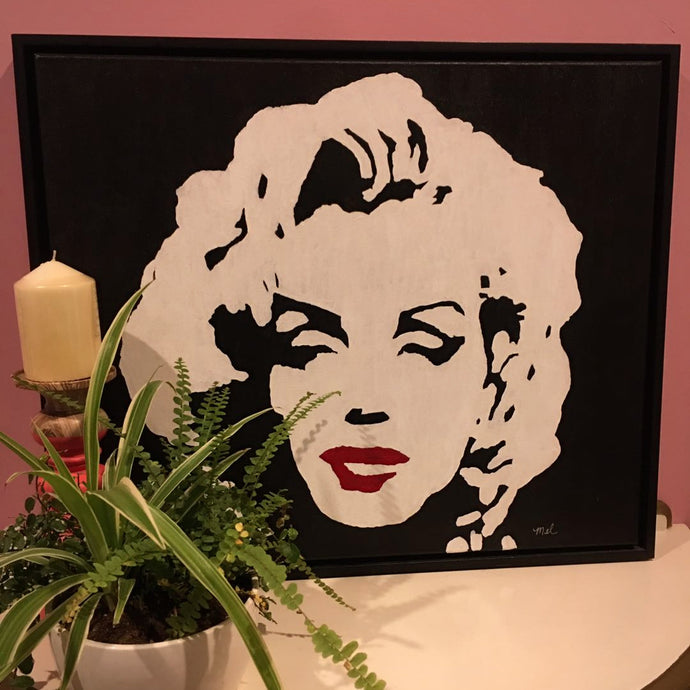 Marilyn - Acrylic on Canvas
