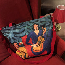Load image into Gallery viewer, Matisse (La Musique) Canvas Bag