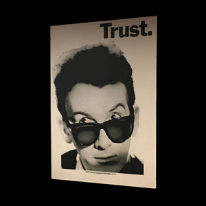 Trust. Elvis Costello Mounted Poster