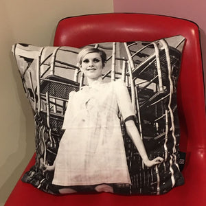 Twiggy Photo Art Cushion