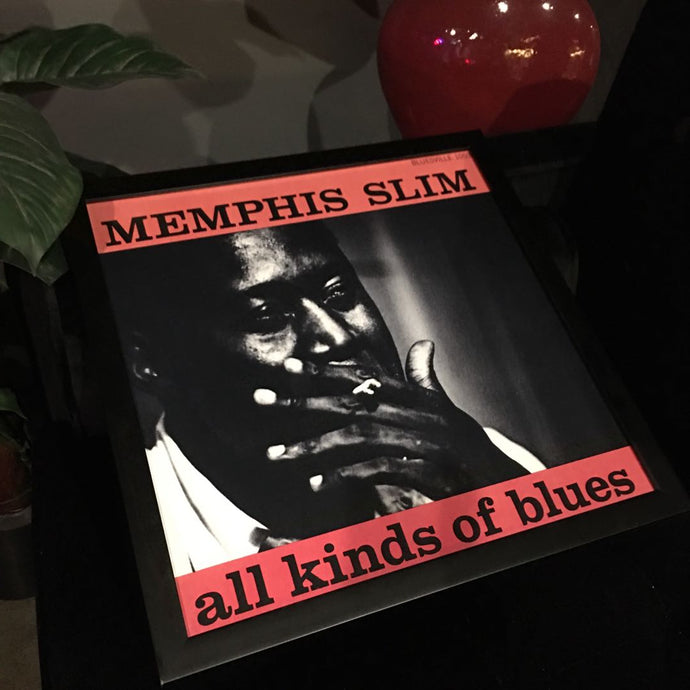Memphis Slim - Framed Photography