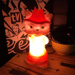 1950s Cat Night Light