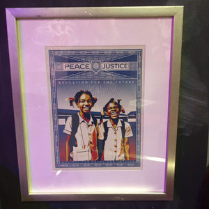 Justice - Framed Obey Print Set