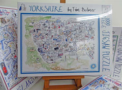 YORKSHIRE : 1000 Piece Jigsaw