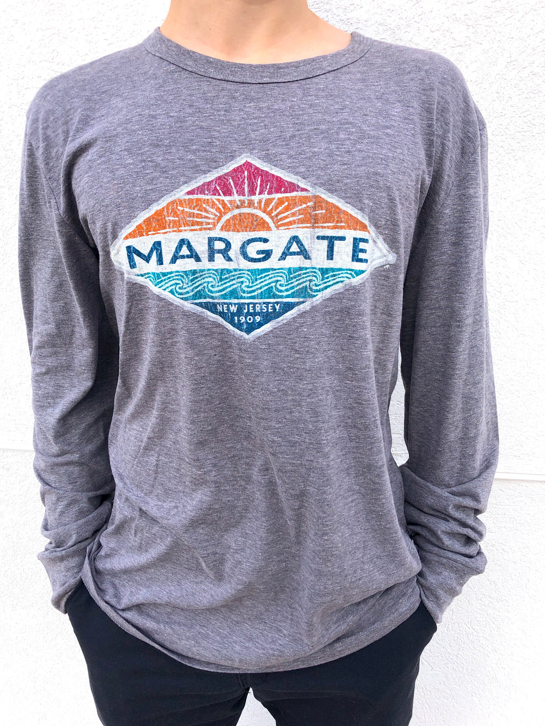 Coastal Margate Tri-Blend Long Sleeve