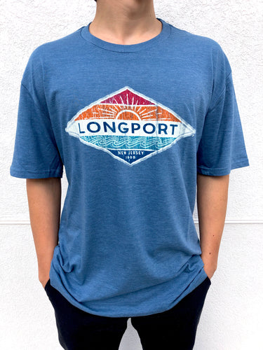 Coastal Longport Tri-Blend Short Sleeve