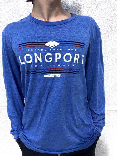 Nautical Longport Tri-Blend Long Sleeve