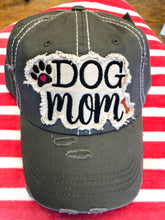 Load image into Gallery viewer, Dog Mom Baseball Cap