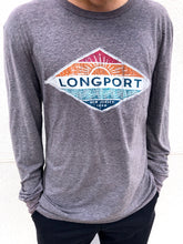 Load image into Gallery viewer, Coastal Longport Tri-Blend Long Sleeve