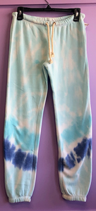 A Twisted TyeDye Burnout Sweatpant