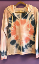 Load image into Gallery viewer, A Twisted TyeDye Burnout Hoodie
