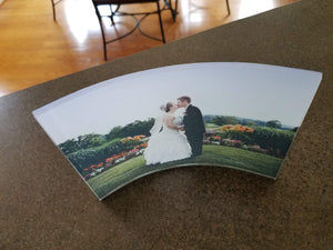 Curved Acrylic Photo
