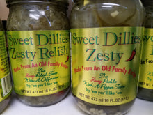 Load image into Gallery viewer, Sweet Dillies Pickles & Relish