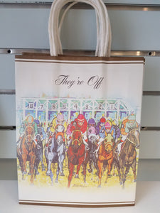 """They're Off"" Gift Bags"