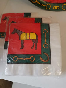 """Horse with Blanket"" Party Supplies"