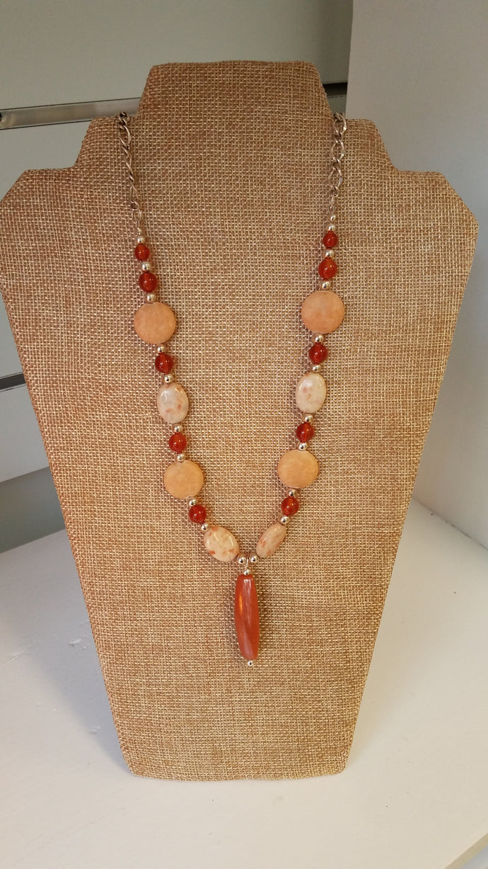Sunset Necklace by Lasca Kisslinger