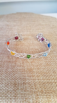 Crystal Bracelet by Lasca Kisslinger