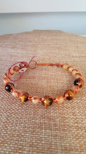 Fall Trees Bracelet by Lasca Kisslinger