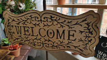 Load image into Gallery viewer, Metal Welcome Sign
