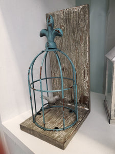 Bird Cage Display/Bookend