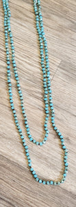 Long Beaded Fashion Necklaces