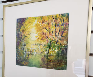 """When Autumn Falls"" Watercolor Painting"