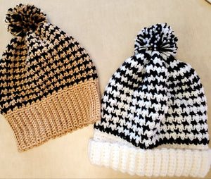 Houndstooth Hats