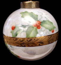 Load image into Gallery viewer, Hand-Painted Porcelain Ornaments