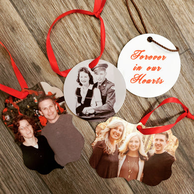 Custom Photo Ornament