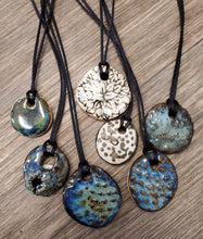 Load image into Gallery viewer, Handcrafted Necklaces by Susan Layne Pottery