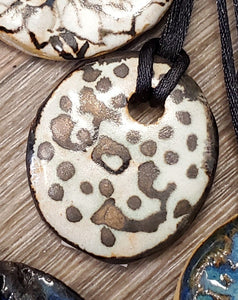 Handcrafted Necklaces by Susan Layne Pottery