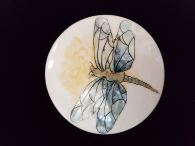 Hand-Painted Porcelain Mirrors