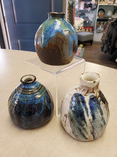 Load image into Gallery viewer, Mini Vases by Susan Layne Pottery