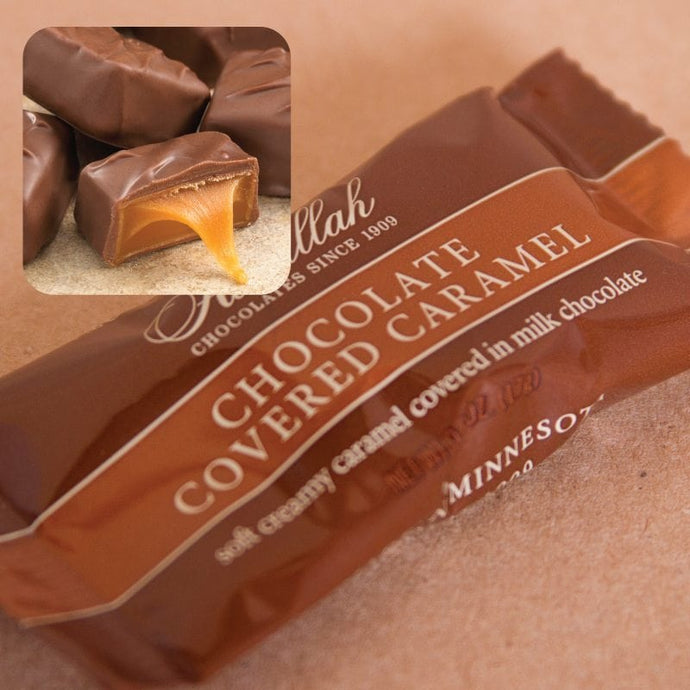 Chocolate Covered Caramel Singles