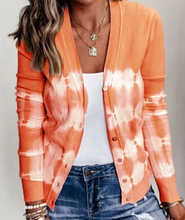 Load image into Gallery viewer, Tie-Dye Cardigan