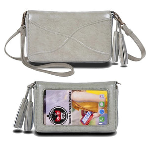 Encounter Touch Screen Phone Purse with Identity Theft Protection