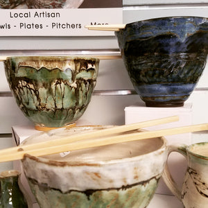 Handcrafted Bowls by Susan Layne Pottery