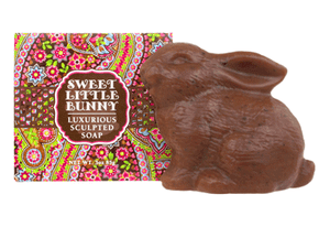 Sweet Little Bunny Soap - Chocolate