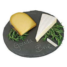 Load image into Gallery viewer, Country Home: Circle Slate Cheese Board