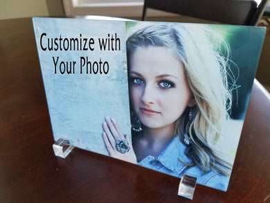 Custom Glass Photo Panel